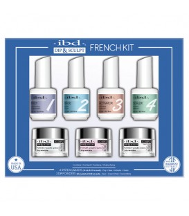 ibd Dip & Sculpt French Kit 7 pc