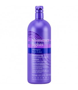 Clairol Shimmer Lights Shampoo Blonde & Silver - 931ml
