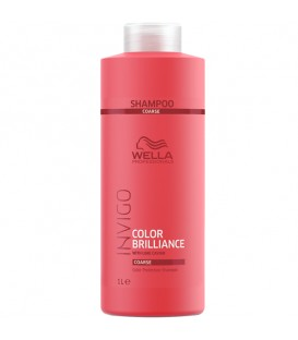 WELLA INVIGO Colour Brilliance Vibrant Colour Shampoo Coarse Hair - 1000ml