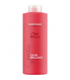 Wella INVIGO Colour Brilliance Conditioner For Fine To Normal Hair - 1L