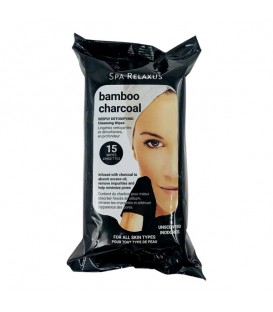 Relaxus Bamboo/Charcoal Refreshing Cleansing Wipes