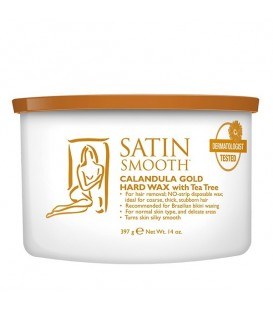 Satin Smooth Calendula Gold Hard Wax - 397g