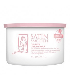 Satin Smooth Deluxe Cream Wax - 397g - SSW14CRG