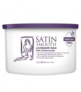 Satin Smooth Lavender Chamomile Cream Wax - 397g - SSW14LWG