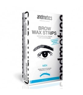 Andmetics Brow Wax Strips Men