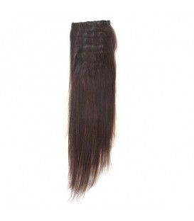 Hairworx Clip on Extensions Dark Brown 8pc - 14""