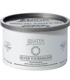 Satin Smooth Silver Tourmaline Wax - 397g - SSW14ST