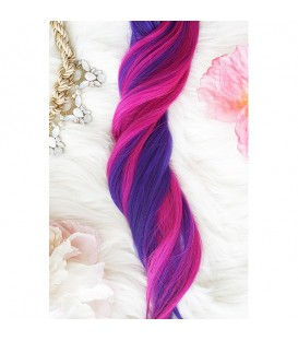 Unicorn Hair Extensions Happy Mix - 16″