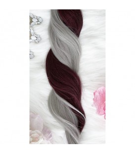 Unicorn Hair Extensions Fanciful Mix - 16″