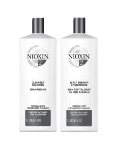 Nioxin System 2 Duo - 1L