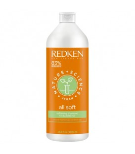 Redken Nature + Science All Soft Shampoo - 1000ml