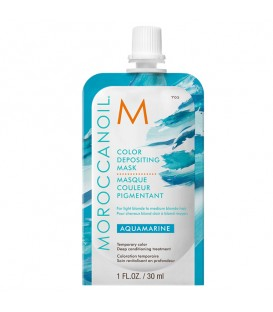 Moroccanoil Color Depositing Mask Aquamarine - 30ml