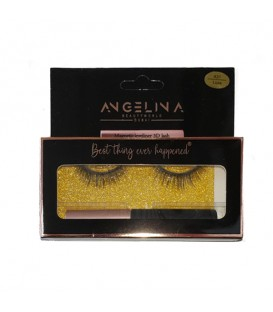 ANGELINA XOXO Magnetic Eyelashes and Eyeliner Kit