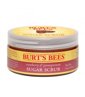 Burt's Bees Cranberry and Pomegranate Sugar Scrub - 225g