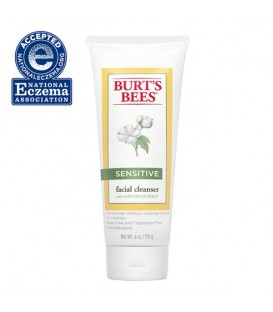 Burt's Bees Sensitive Facial Cleanser With Cotton Extract - 170g