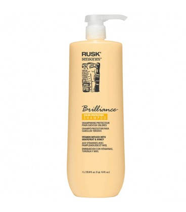Rusk Brilliance Color-Protecting Shampoo - 1L