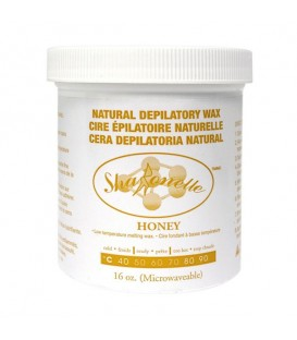 Sharonelle Microwave Natural Honey Soft Wax - 16oz