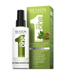 FREE UniqOne All in One Green Tea Hair treatment - 150ml