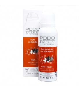 PODO EXPERT by Allpremed® - Dry to Cracked Skin Foot Foam - 125ml