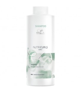 Wella NutriCurls Micellar Shampoo For Curls - 1L