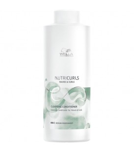 Wella Nutricurls Waves & Curls Cleansing Conditioner - 1L