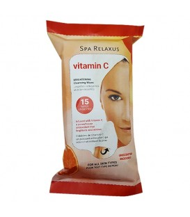 Relaxus Vitamin C Cleansing Wipes