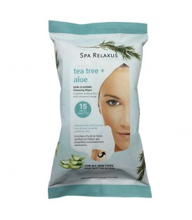 Relaxus Tea Tree + Aloe Cleansing Wipes