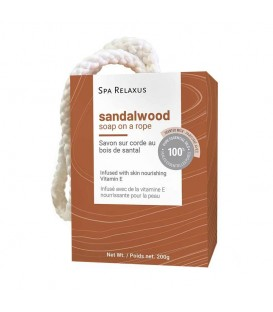 Relaxus Beauty Soap on a Rope - Sandalwood