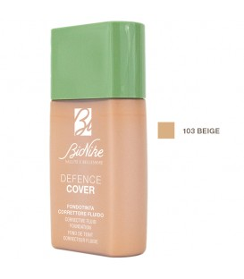 BioNike Defence Cover Corrective Fluid Foundation 103 Beige - 40ml