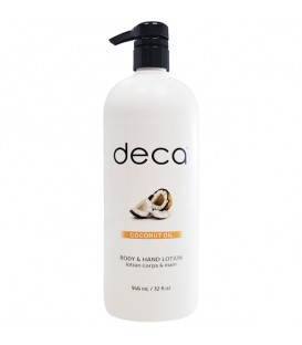 Deca Coconut Oil Body & Hand Lotion - 946ml