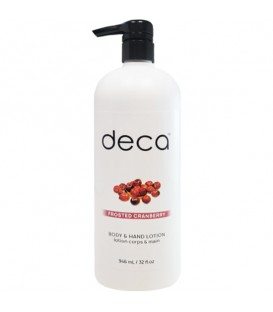 Deca Frosted Cranberry Body & Hand Lotion - 946ml